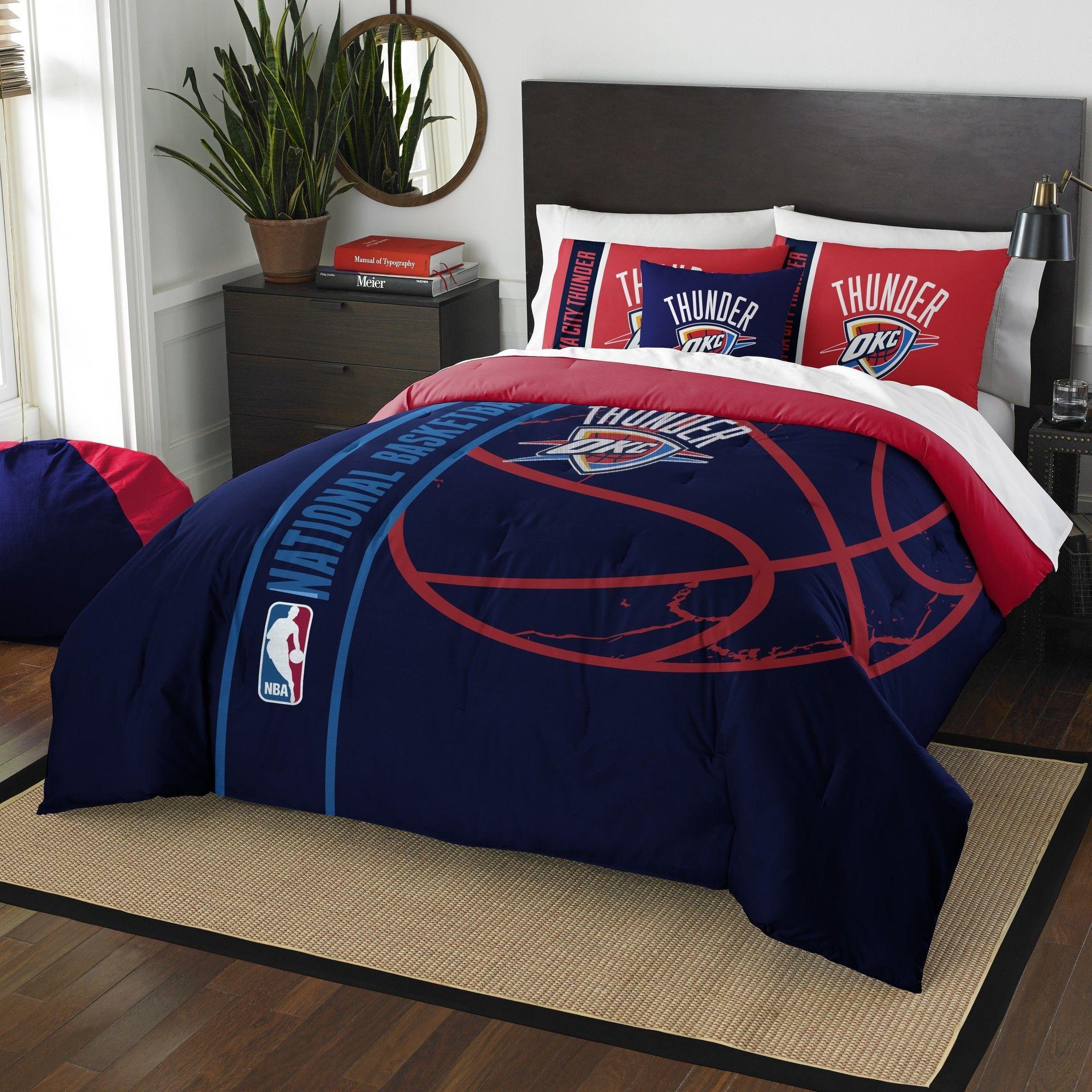 NBA Thunder Basketball Comforter Set