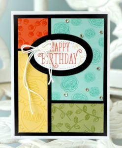 Handmade Card From Craftprojectcentral Com Using Their Sketch
