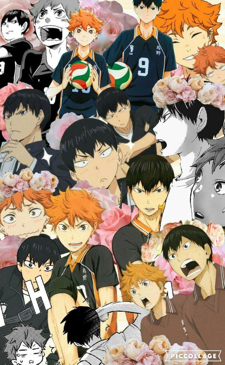haikyuu collage   Tumblr
