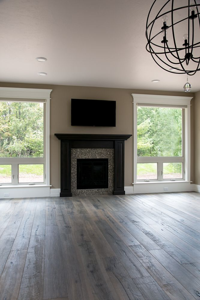 Fireplace Sumi E Penny Round Natural Color Ohara Hardwood