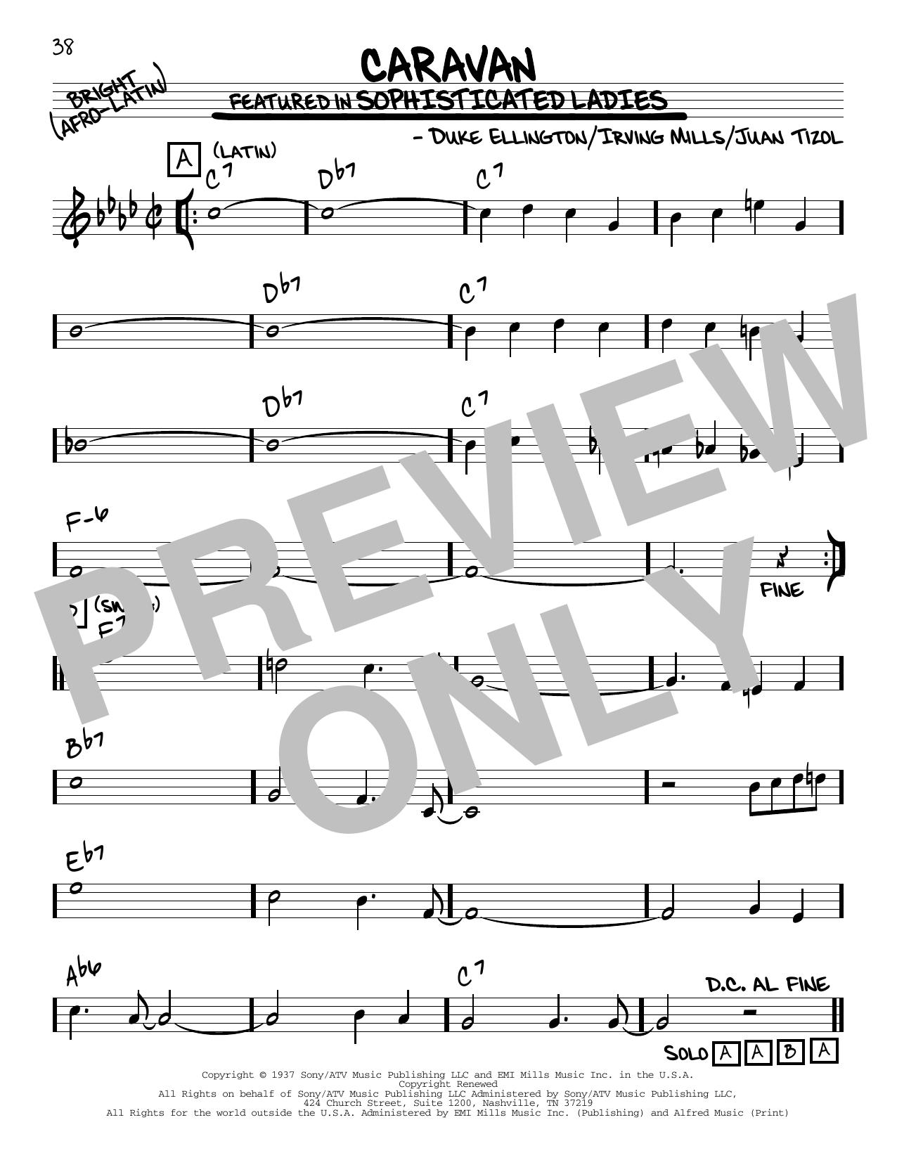 Caravan Other Sheet Music By Duke Ellington