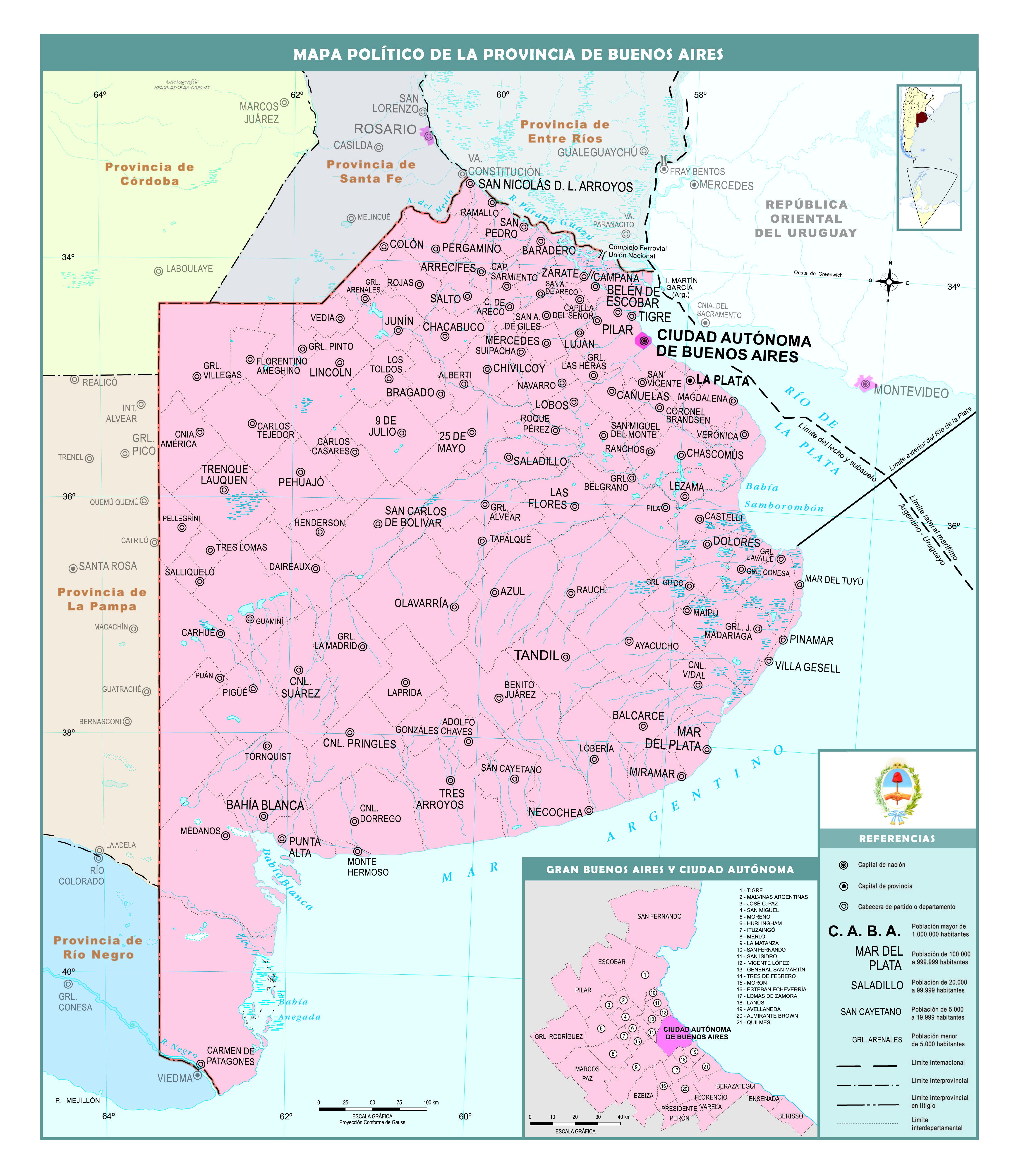 Mapas Políticos De La Argentina Recursos Educ Ar Mapa Politico Mapas Enseñanza De La Geografía