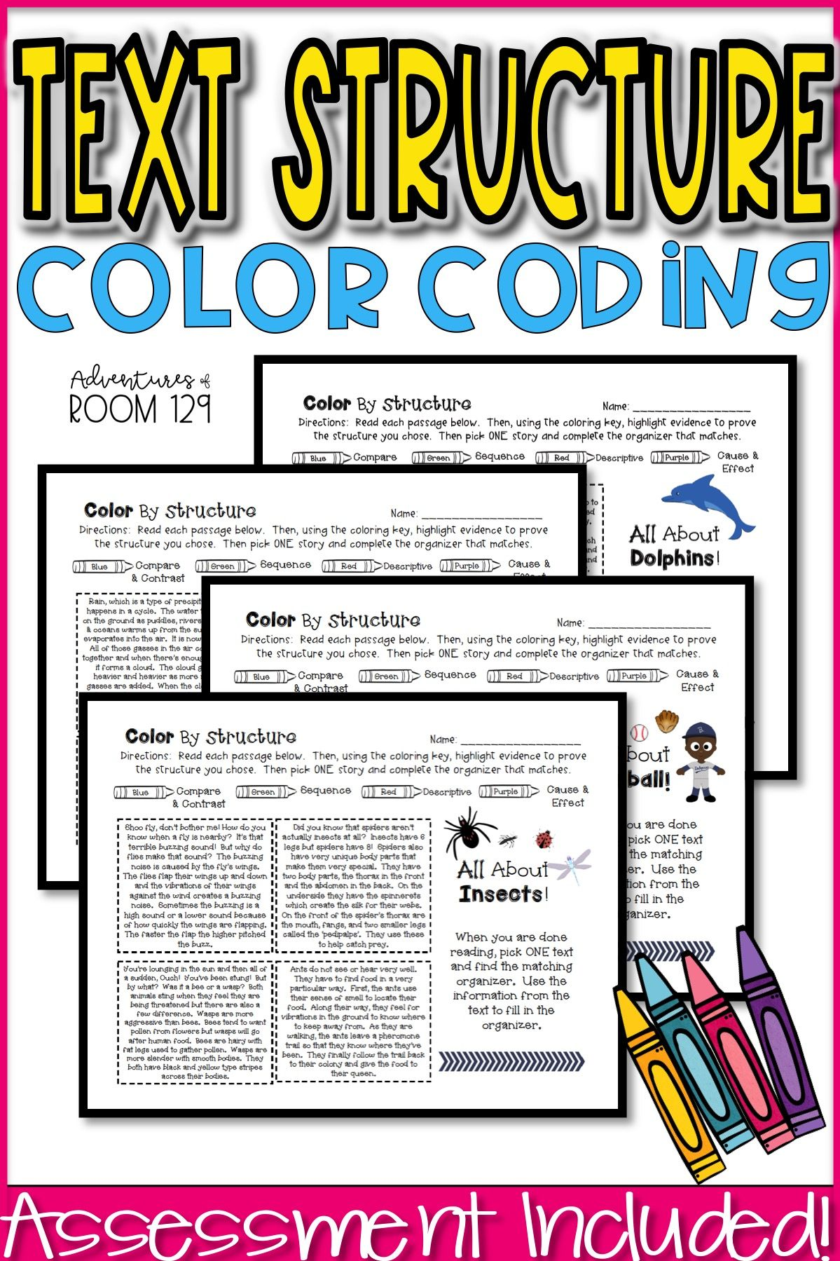Text Structure Printables
