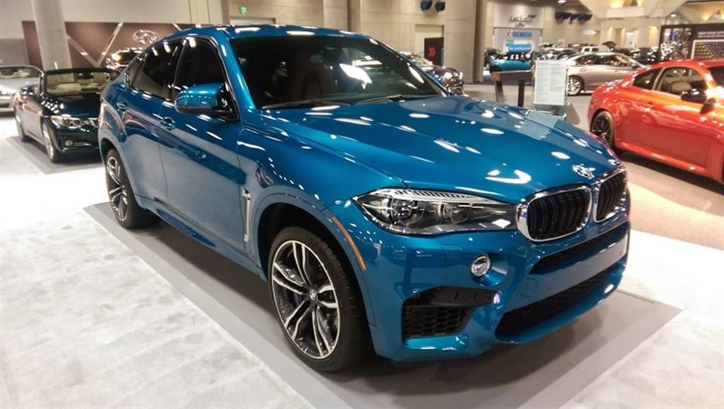 BMW X6 M In Long Beach Blue By Encinitas CA Click To View More Photos And Mod Info