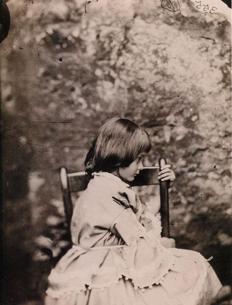 known as the author behind the famed Alice's Adventures In Wonderland by most, Charles Lutwidge Dodgson, more commonly known by his pen name, Lewis Carroll, was also a photographer. Portrait of Alice Liddell. 1858.
