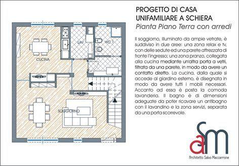 Progetto di case a schiera giarre ct salvatore maccarrone for Planimetrie della casa a schiera