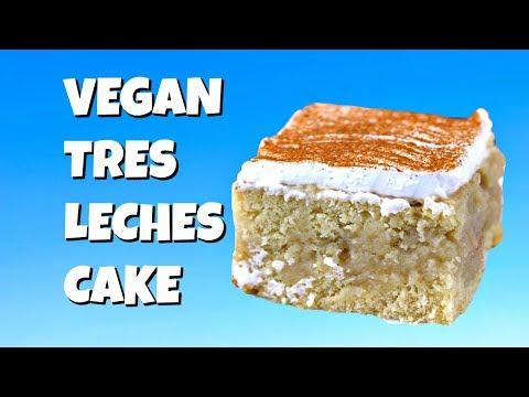 Vegan Tres Leches Cake    Gretchen's Vegan Bakery #tresleches Vegan Tres Leches Cake - Gretchen's Vegan Bakery