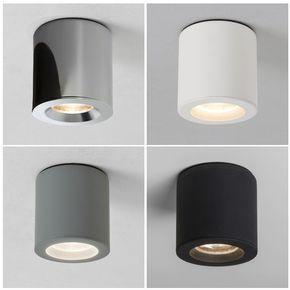 Badezimmer Lampe Schwarz