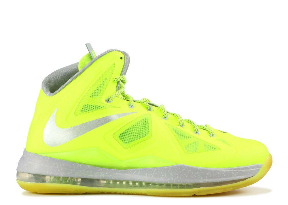 Nike Air Max LeBron 10 X Volt Yellow