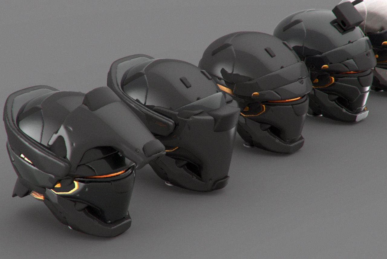 ArtStation - Phantom Project helmet designs, Mohammed Z ...