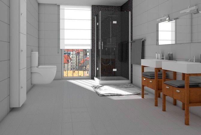 Fußboden Fliesen Selber Verlegen ~ Bodenfliesen in bad und küche selbst verlegen sakret diy