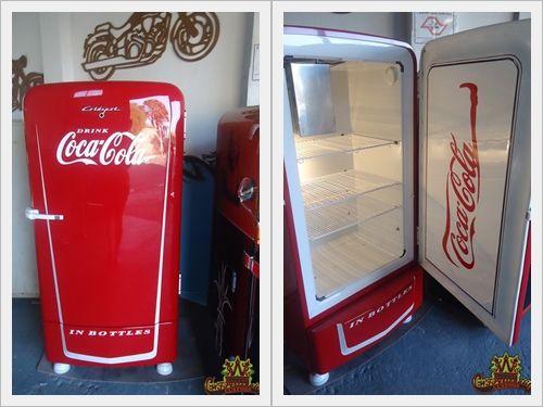 Coca Cola Retro Kühlschrank Schwarz : Geladeira antiga restaurada e customizada retro pinterest
