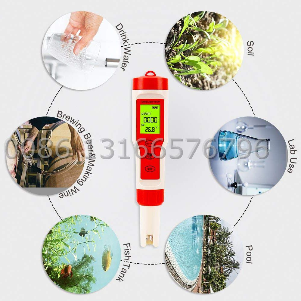 Pin On 4 In 1 Multifunction Ph Ec Tds Temp Meter