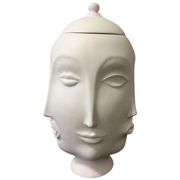 Multi Face Cookie Jarvase 1260 Brl Liked On Polyvore