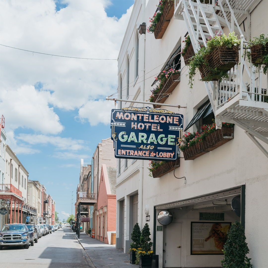 For Your Convenience The Hotel Monteleone Offers 24 Hour Valet