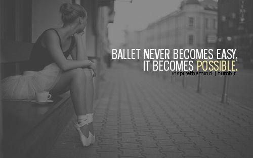 Ballet Quotes On Tumblr