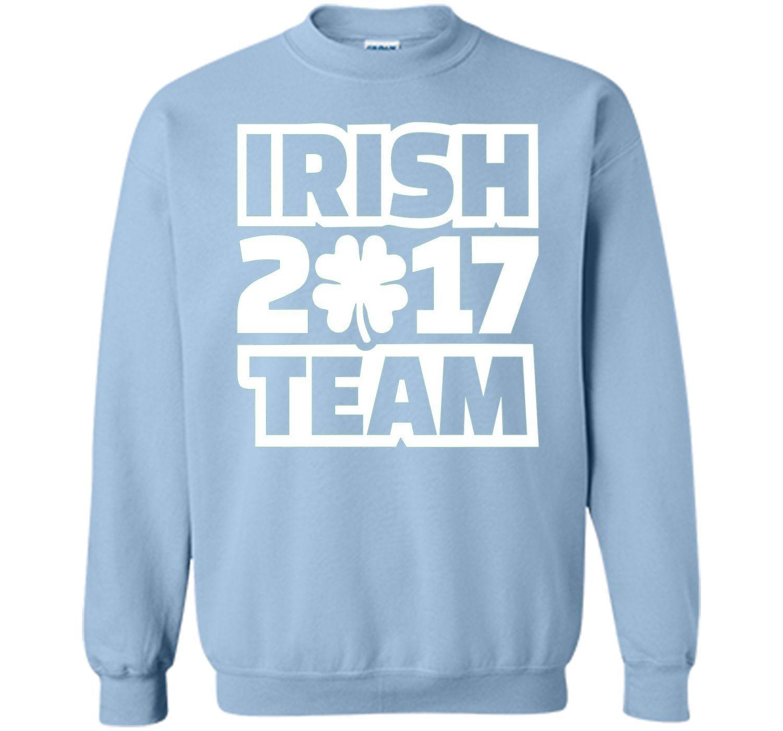 Irish team tshirt products pinterest pullover