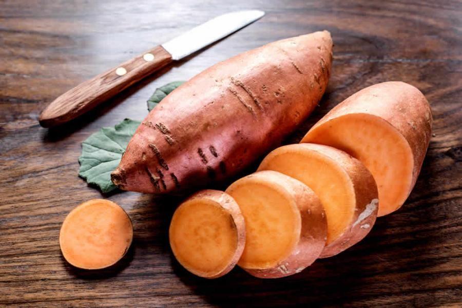 فوائد البطاطا العادية البيضاء والبطاطا الحلوة للاعب كمال الأجسام Dog Recipes Sweet Potato Sweet Potato Dog Chews