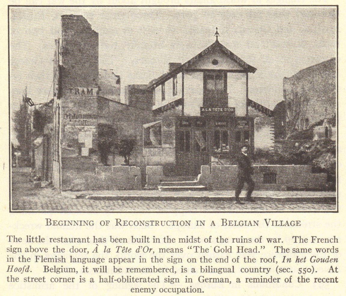 Post Wwi Belgian Village