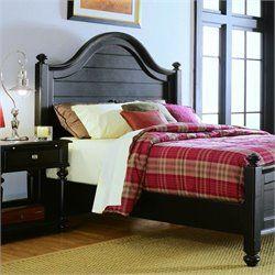 American Drew Camden Black Panel Bed 2 Piece Bedroom Set Distressed Bedroom Furniture Bedroom Furniture Sets Bedroom Sets
