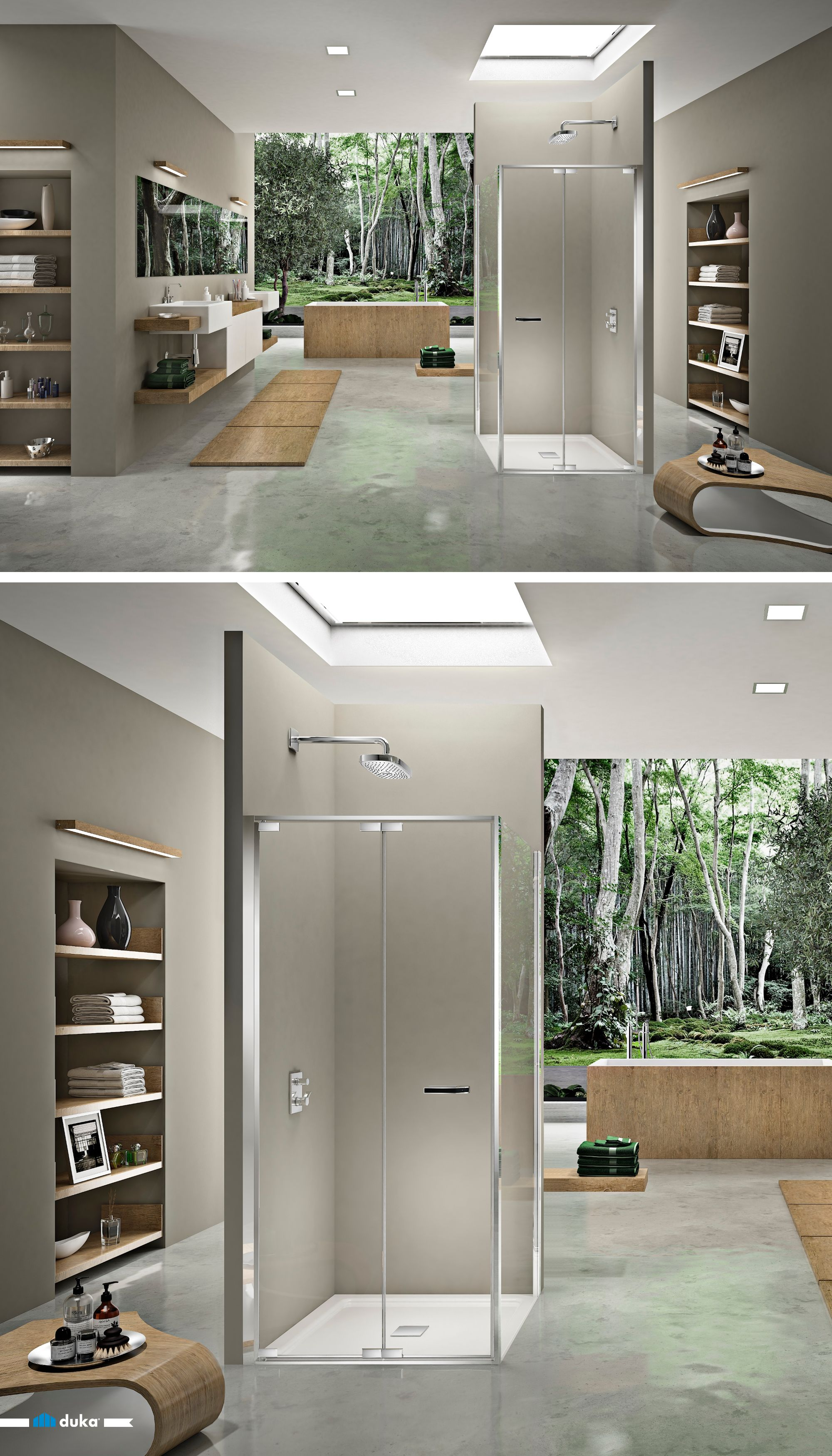 natura 4000 is a brand new shower enclosure known for its harmonious ...