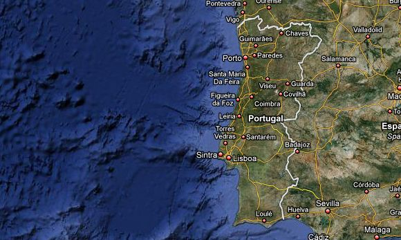 images for google maps portugal
