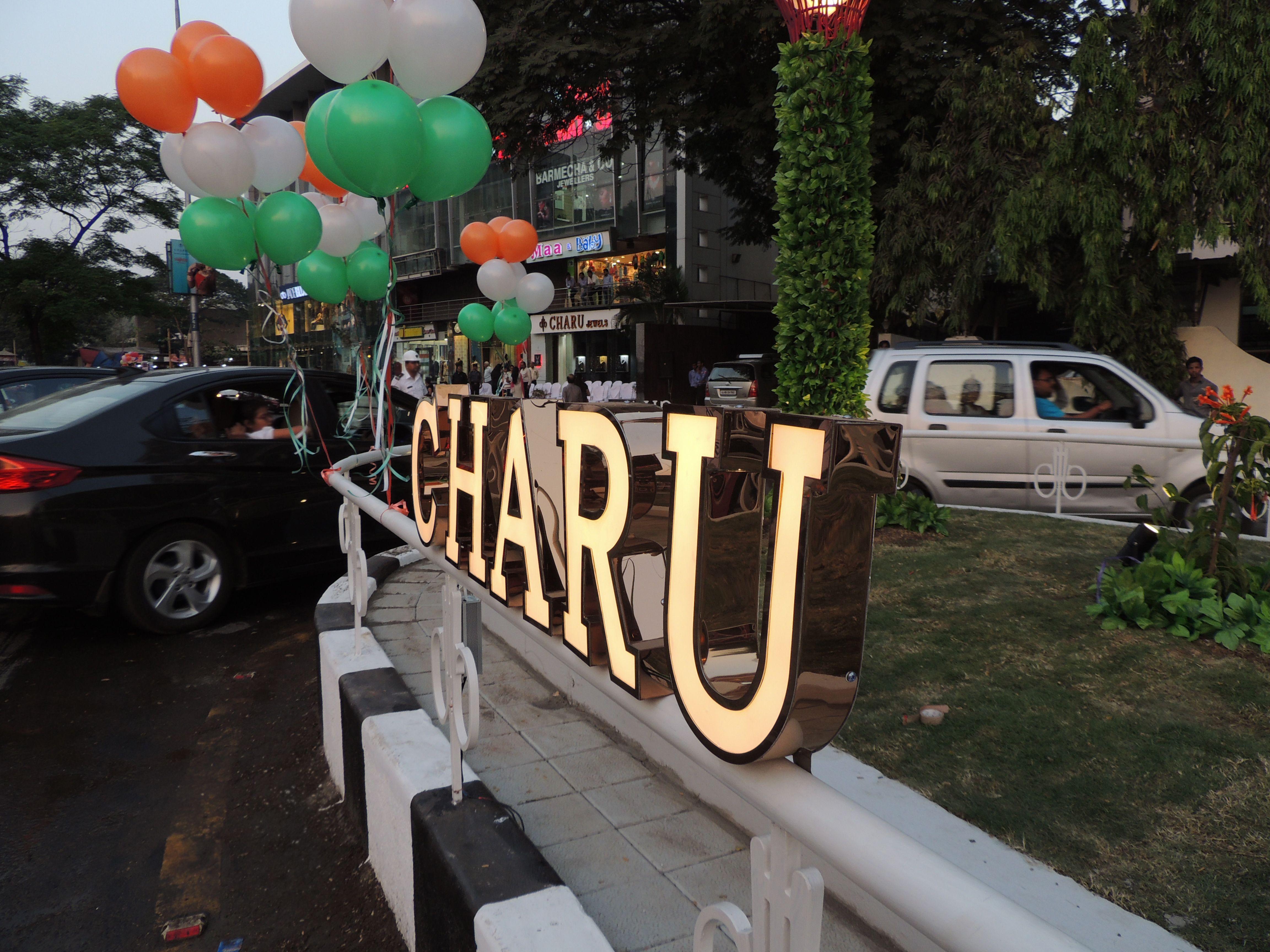 Inauguration of charu jewels island charujewels trafficisland