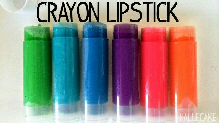 Try making this crayon lipstick