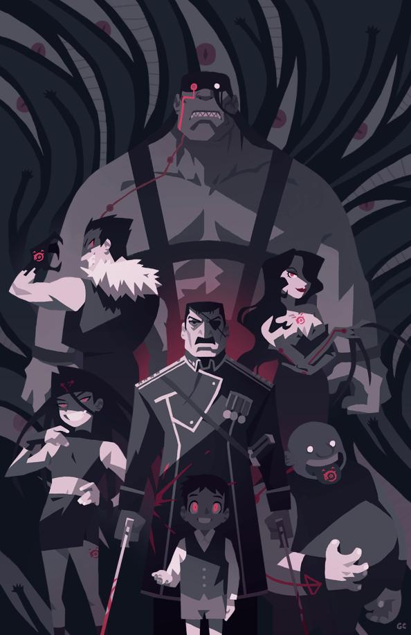 7 deadly sins in FMA   Fullmetal Alchemist   Pinterest ...