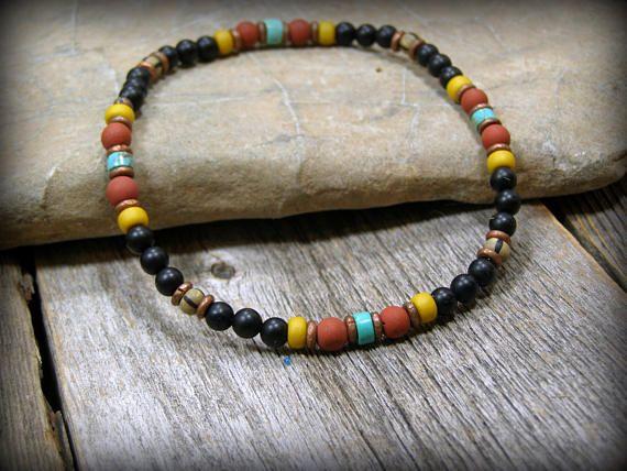 Mens Bracelet Native American Beaded Bracelet Womens Bracelet