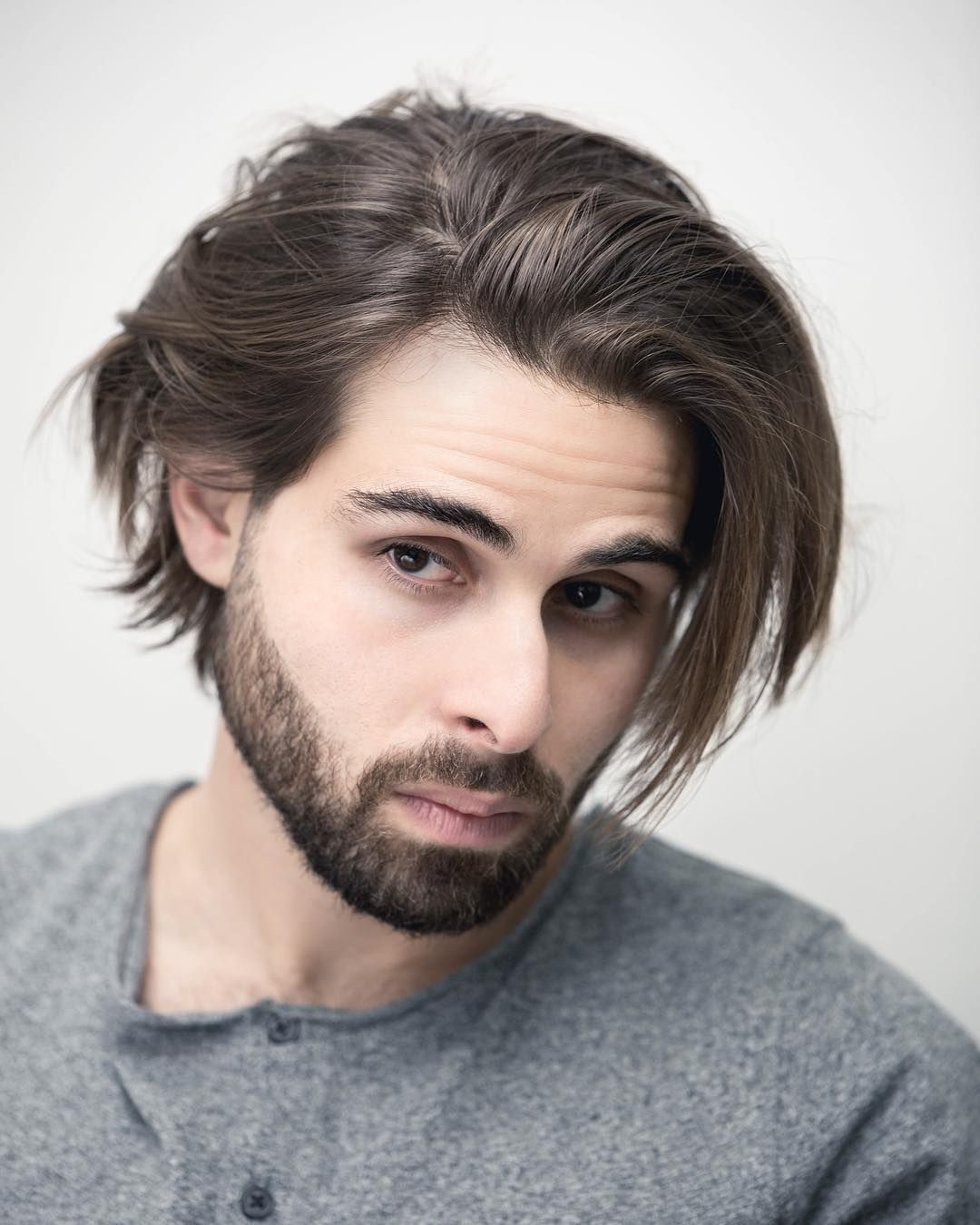 How To Grow Your Hair Out Men S Tutorial Growing Your Hair Out Shoulder Length Hair Men Grow Long Hair