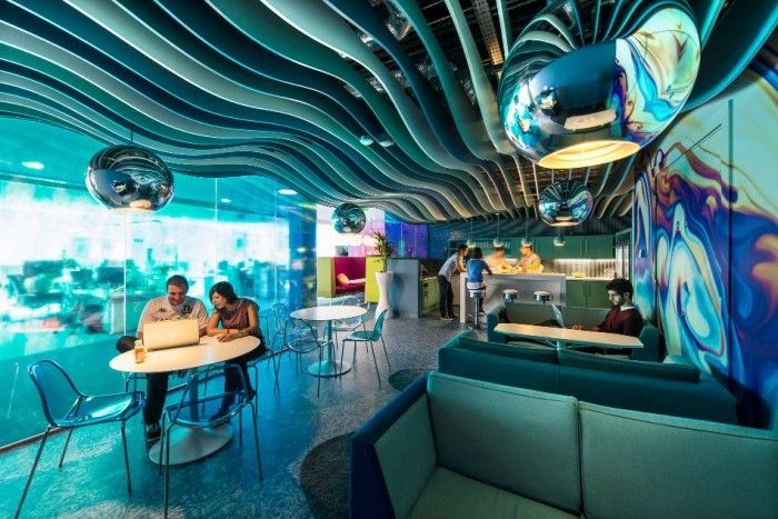 New Google Office Dublin Google office Office decorations and