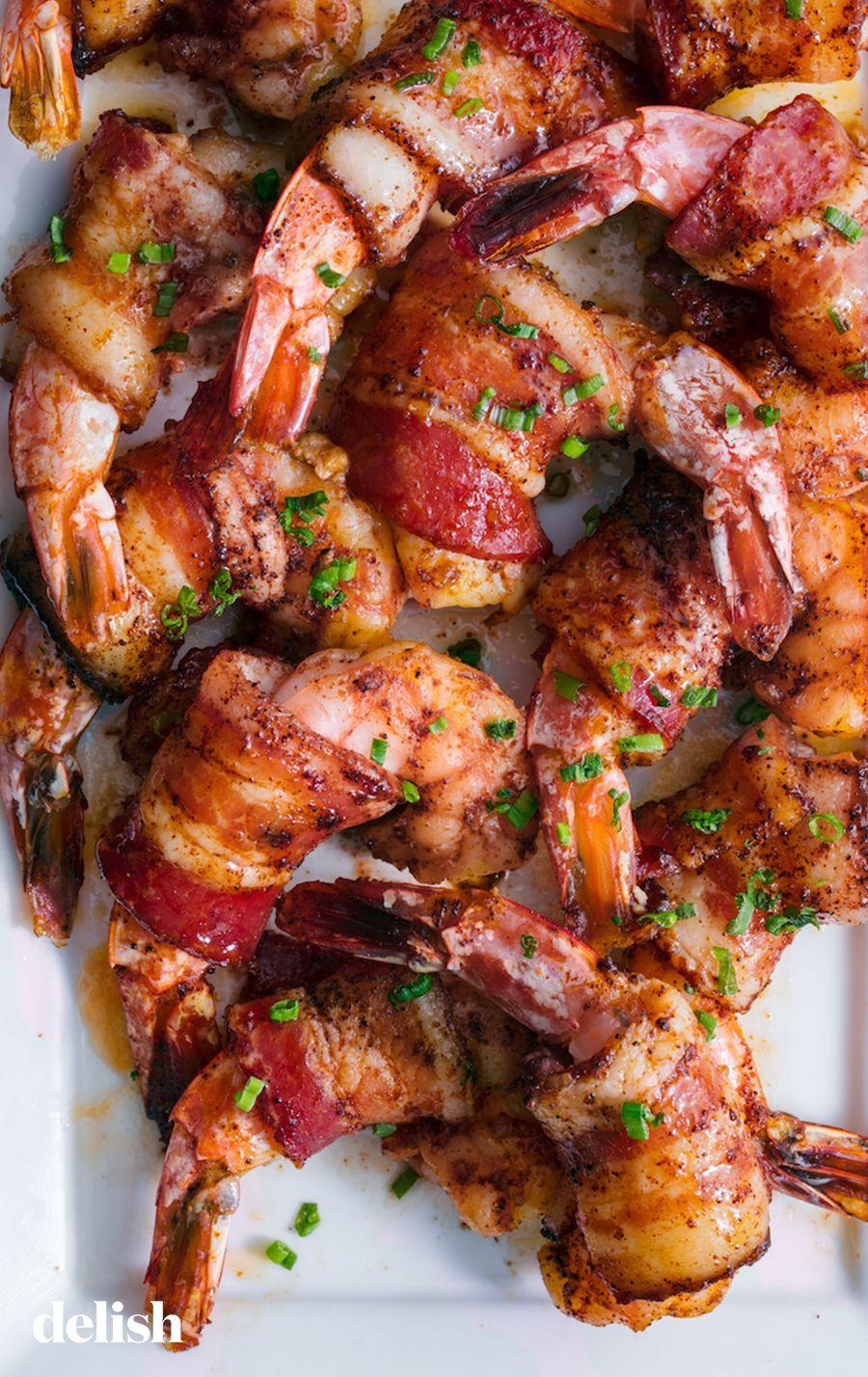Bacon Wrapped Shrimp -  -