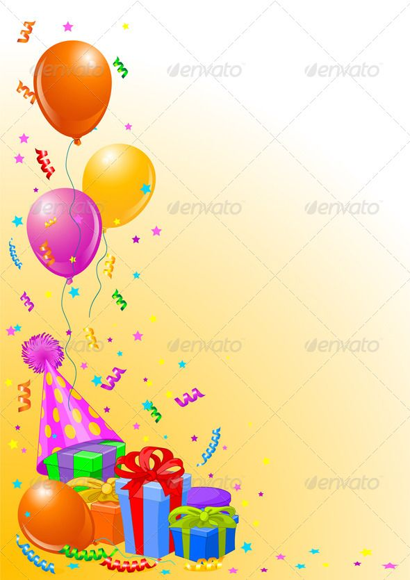 Birthday Party Background Art Design Inspiration Party