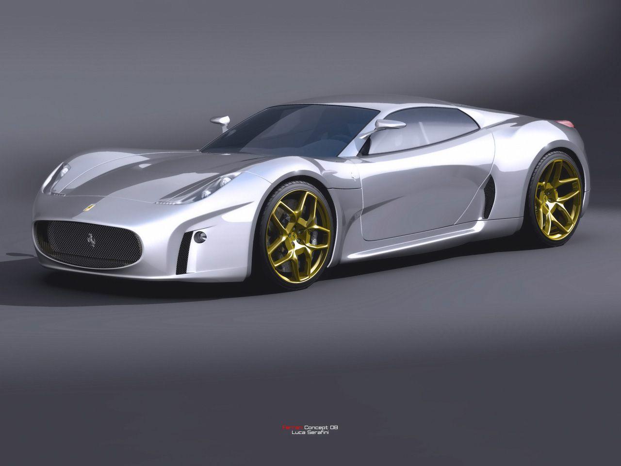 Ferrari luca serafini concept