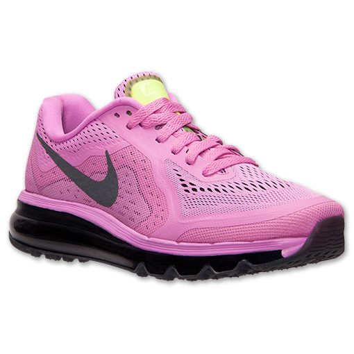 Women\u0027s Nike Air Max 2014 Running Shoes | Finish Line | Red Violet/Black/