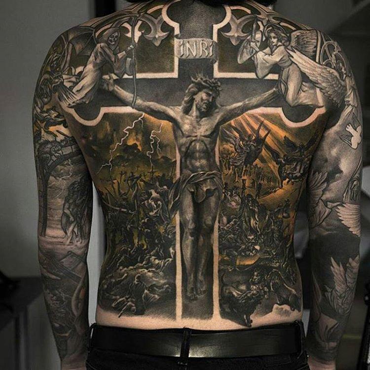 Christian Tattoo Design   WOW