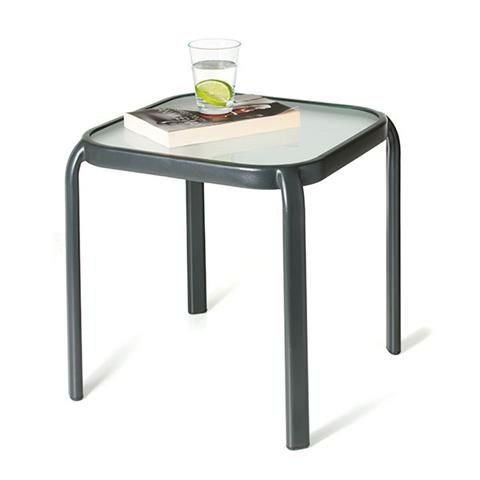 Homemaker Glass Outdoor Table | Kmart | Our Garden | Pinterest