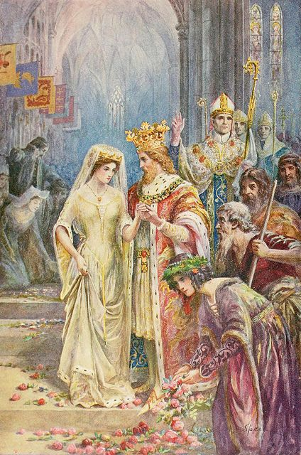 """Lancelot Speed (1860-1931), """"The Marriage of King Arthur""""   Flickr - Photo Sharing!"""
