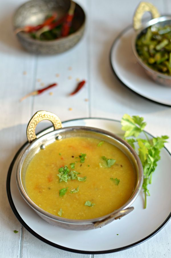 No Tadka Masoor Dal Zero Oil Red Lentils With Roasted Cumin And