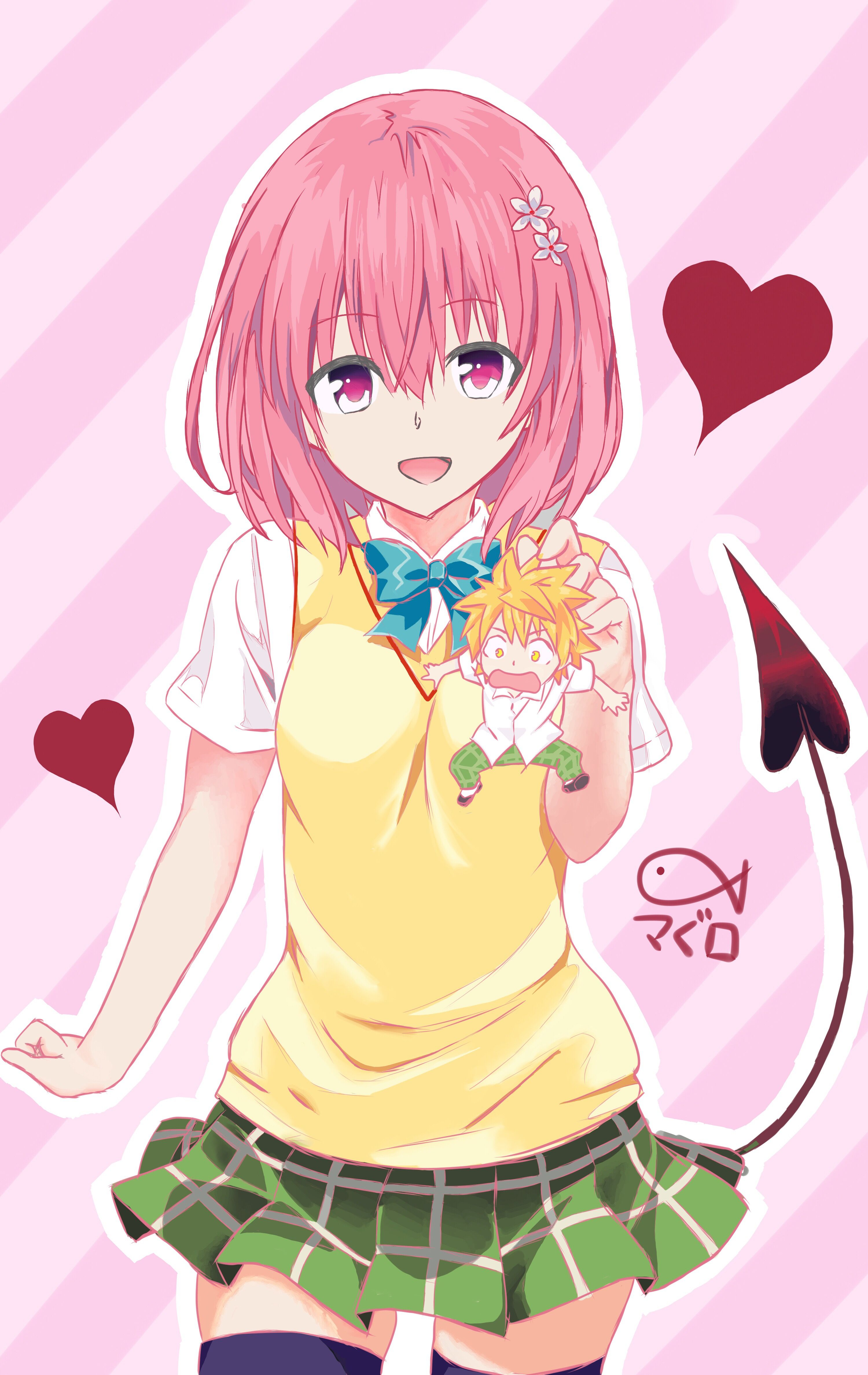 Anime Comic Momo Deviluke おしゃれまとめの人気アイデア