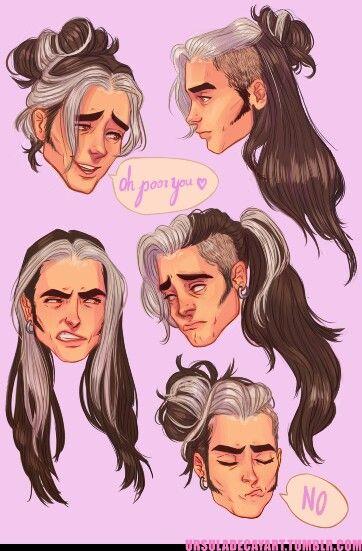 olly's hair ursuladecay art
