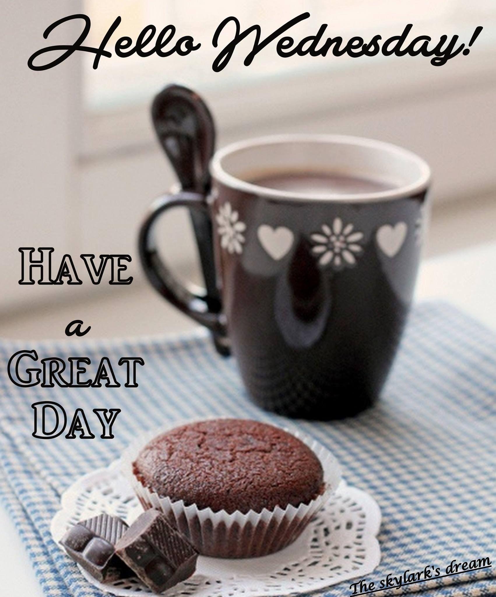 Hello Wednesday Images : hello, wednesday, images, Great, Wednesday, ❤️, Morning, Wednesday,, Coffee,
