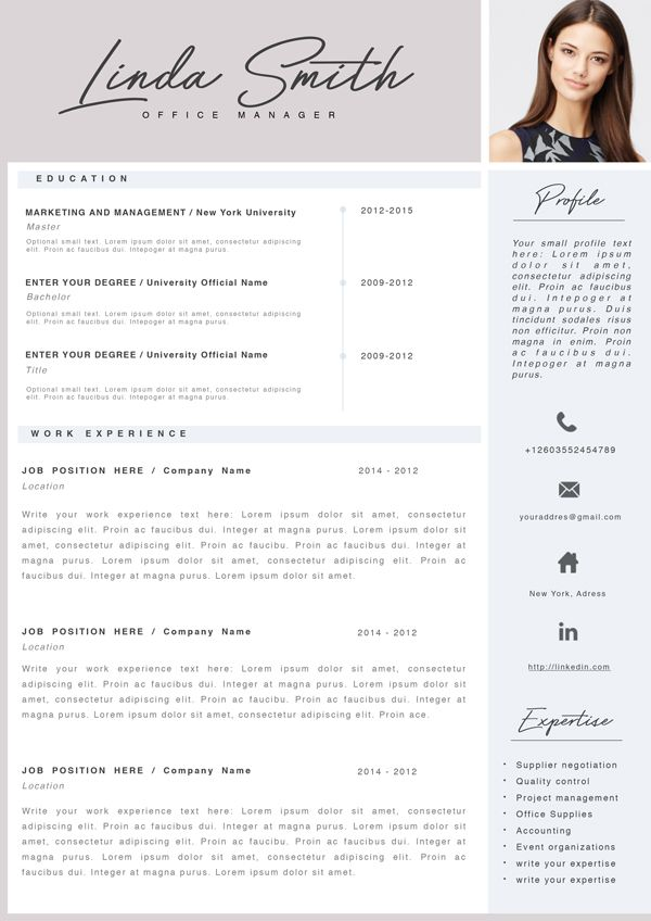 resume template word  cv design  resume template  cv word  simple resume  professional resume