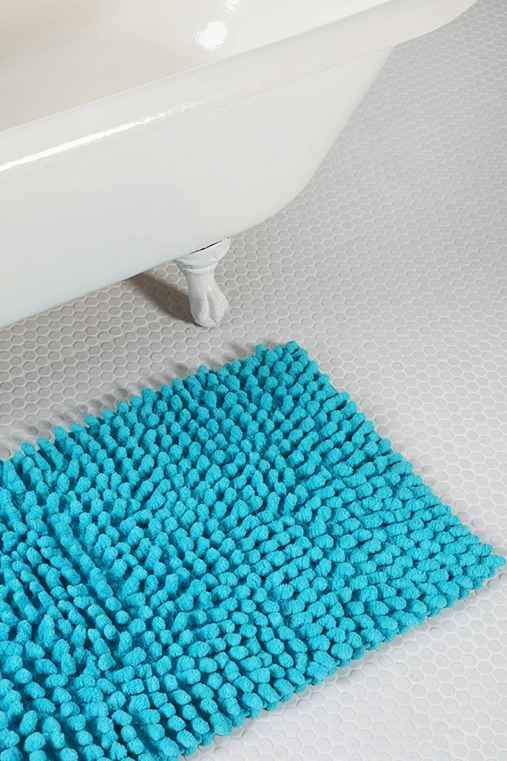 Popcorn Bath Mat Decor Pinterest Bath Mat Bath And Future - Teal bath mat for bathroom decorating ideas