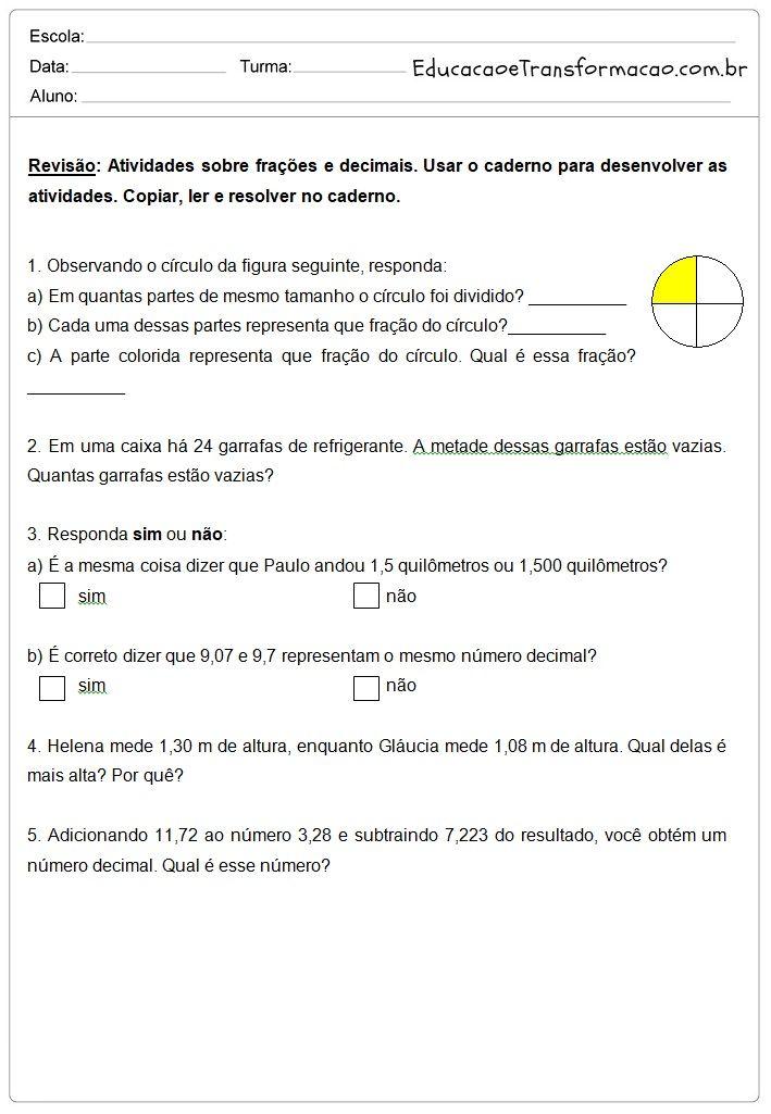 Pin Em Matematica Aloisio