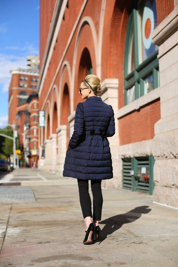 Atlantic-Pacific fashionable navy parka for the winter  57771b5f964