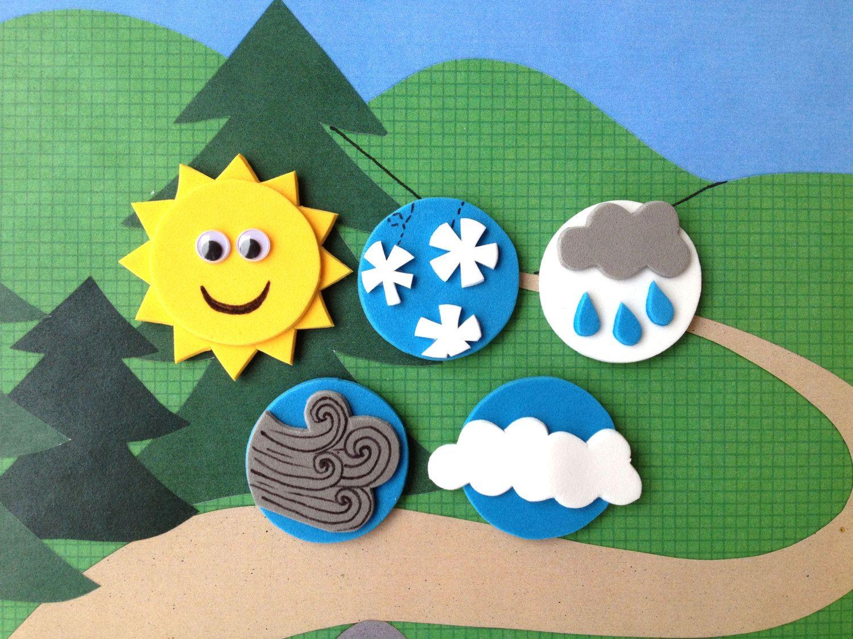 Weather Magnets Preschool Weather Activities By Sosimplesosweet