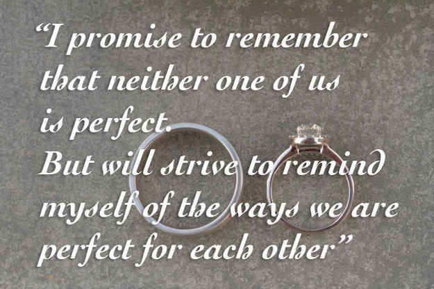 13 Nontraditional Wedding Vows That Will Make You Believe In Love Again