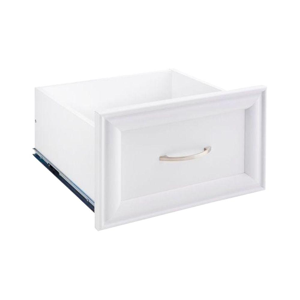 Closetmaid 16 In W X 10 In H White Decorative Wood Drawer 4943